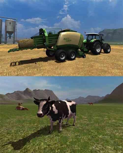 """ Juego Farming Simulator 2011"""