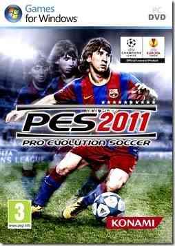 Descargar crack Pro Evolution Soccer 2011 juegos full