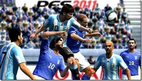 Pro Evolution Soccer 2011 gratis