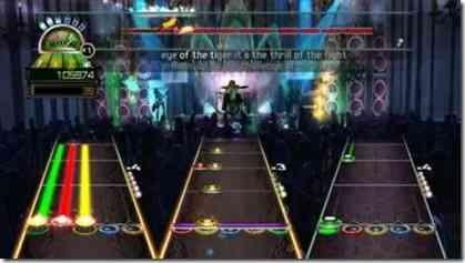 [MULTI-9] Guitar Hero World Tour. Guitarheroworldtourscreen