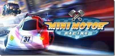 The Binary Mill Mini Motor Racing game