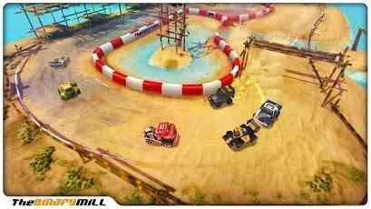 The Binary Mill Mini Motor Racing juego